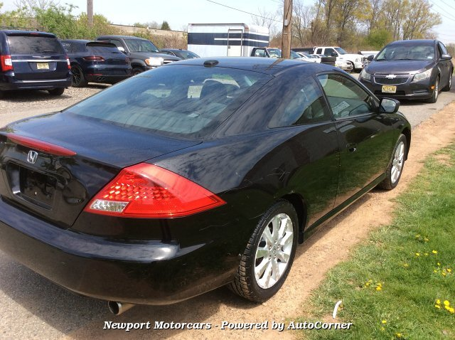 2007 Honda Accord EX-L V-6 Coupe AT 5-Speed Automatic